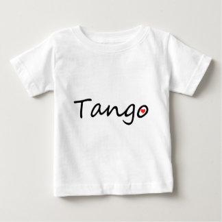 ¡Diseño original del amante del tango! Playera De Bebé