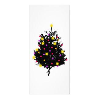 Diseño original del árbol de navidad diseños de tarjetas publicitarias