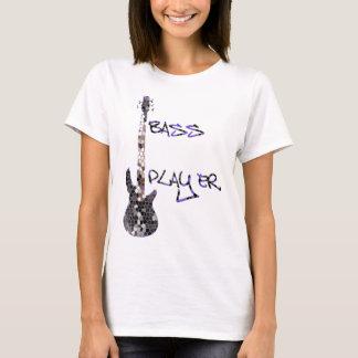 ¡Diseño original del bajista! Playera