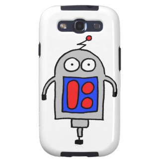 Diseño original del deBot de Bobby Samsung Galaxy S3 Carcasa