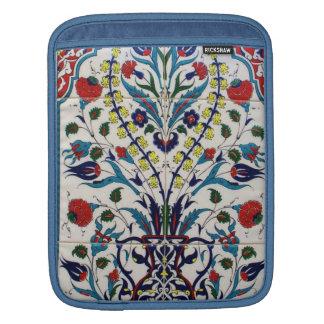 Diseño ornamental en una era turca del otomano de funda para iPads