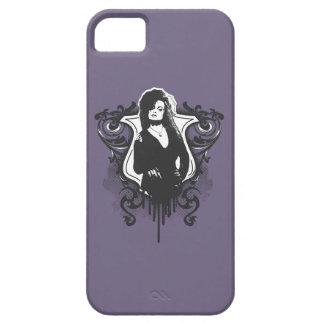 Diseño oscuro de los artes de Bellatrix Lestrange iPhone 5 Protectores