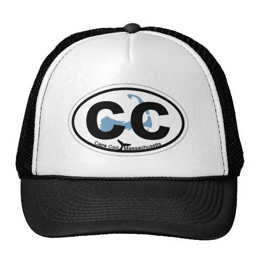 Diseño oval de Cape Cod Gorra