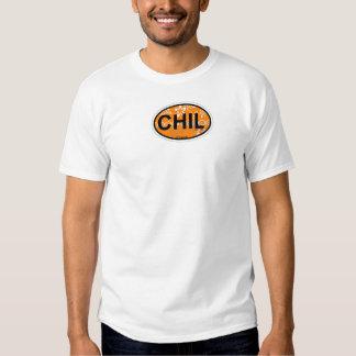 Diseño oval de Chilmark Playera