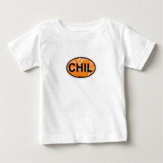 Diseño oval de Chilmark Playera Para Bebé