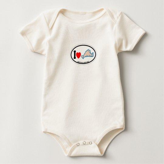 Diseño oval del Martha's Vineyard Body Para Bebé