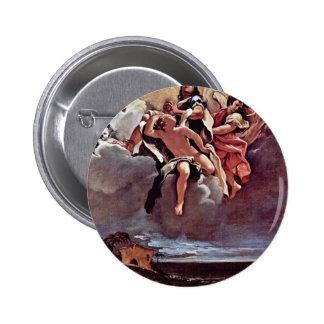 Diseño para el ciclo del fresco en San Bernardino, Pin Redondo 5 Cm
