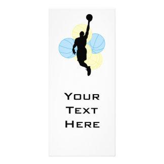 diseño para hombre de la silueta del voleibol lonas publicitarias