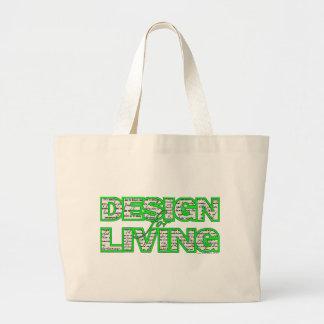 Diseño para la bolsa de asas viva www.sobercards.c