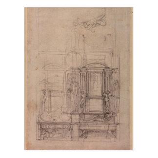 Diseño para la capilla de Medici Tarjetas Postales