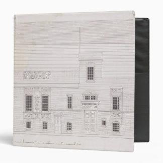 Diseño para la casa y el estudio para J.A.M. Whist