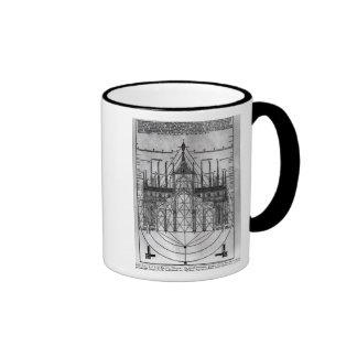 Diseño para la catedral de Milano Tazas