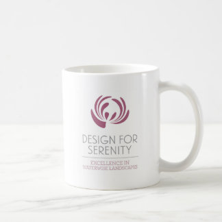 Diseño para la serenidad taza de café