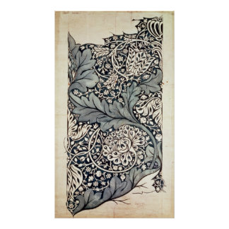 Diseño para la zaraza de Avon, c.1886 Póster