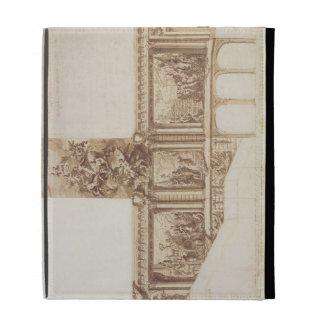 Diseño para las paredes y la escalera (pluma del t
