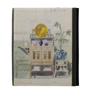 Diseño para un aparador, c.1860s-70s (w/c y lápiz