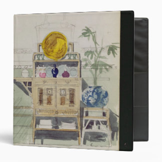 """Diseño para un aparador, c.1860s-70s (w/c y lápiz carpeta 1 1/2"""""""