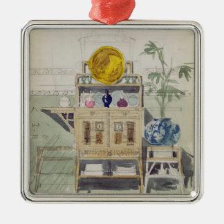 Diseño para un aparador c 1860s-70s w c y lápiz ornamentos para reyes magos