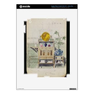 Diseño para un aparador, c.1860s-70s (w/c y lápiz iPad 3 pegatina skin