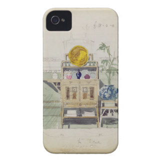 Diseño para un aparador, c.1860s-70s (w/c y lápiz iPhone 4 Case-Mate carcasas