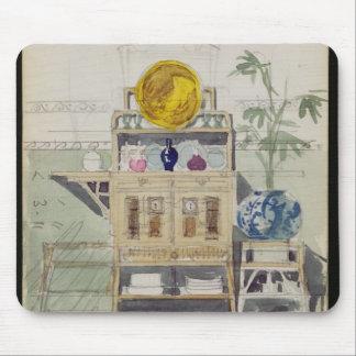 Diseño para un aparador, c.1860s-70s (w/c y lápiz tapete de ratones
