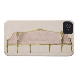 Diseño para un Settee iPhone 4 Case-Mate Carcasas