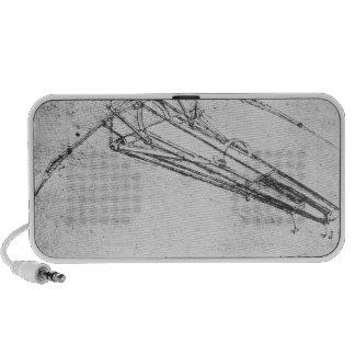 Diseño para una máquina de vuelo iPod altavoz