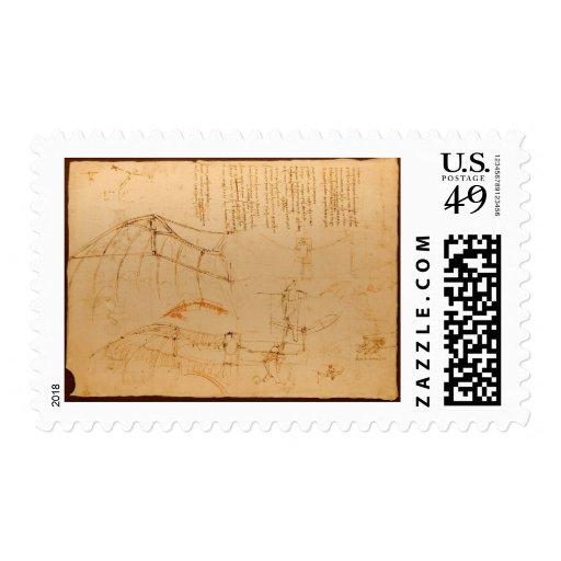 Diseño para una máquina de vuelo sello