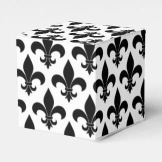 Diseño parisiense del modelo francés de la flor de cajas para detalles de boda