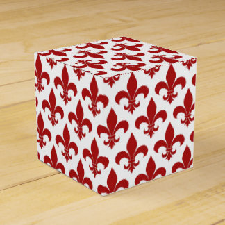 Diseño parisiense del modelo francés de la flor de caja para regalo de boda