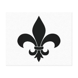 Diseño parisiense del modelo francés de la flor de impresión en tela