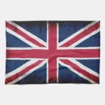 Diseño patriótico británico de Union Jack de la Toalla De Mano