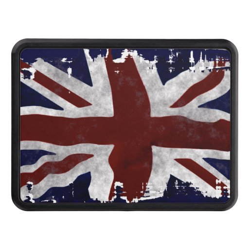 Diseño patriótico británico de Union Jack de la Tapa De Tráiler