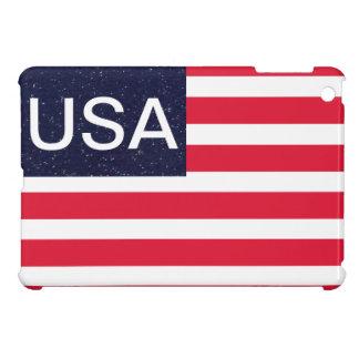 Diseño patriótico del mini caso del iPad de los E.