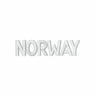Diseño patriótico noruego de NORUEGA Sudadera Encapuchada