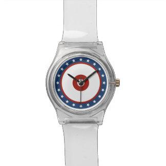 Diseño patriótico reloj