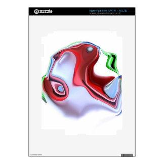 diseño pegatina skin para iPad 3