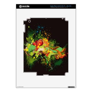 diseño pegatinas skins para iPad 3