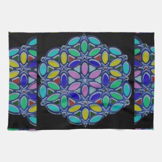 Diseño pendiente del estilo de la mandala del toalla