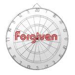 """Diseño """"perdonado"""" del cristiano tabla dardos"""