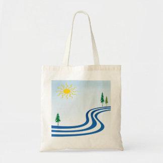 Diseño perezoso del río bolsas