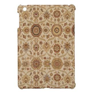Diseño persa floral rojizo de la tapicería del