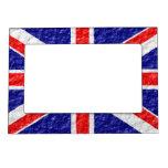 Diseño personalizado de la bandera de Union Jack Foto De Imanes