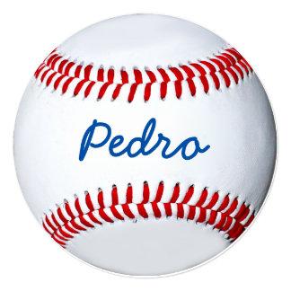 """Diseño personalizado de la foto del béisbol invitación 5.25"""" x 5.25"""""""