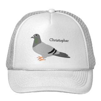 Diseño personalizado de la paloma gorros