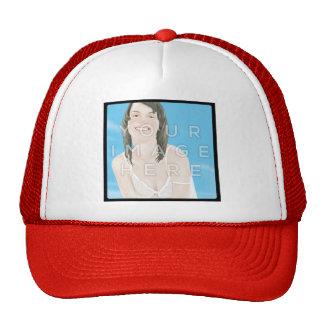 Diseño personalizado del gorra de la foto de Insta