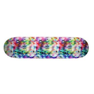 Diseño pintado brillante del diamante patinetas personalizadas