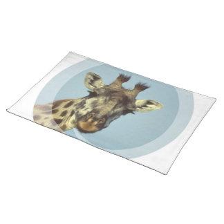Diseño Placemat de la jirafa Manteles Individuales