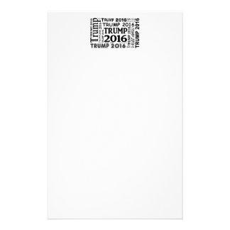 Diseño popular de la impresión intrépida del personalized stationery