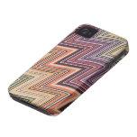 diseño popular de la tela del caso de la cubierta  iPhone 4 Case-Mate cárcasa